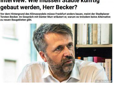 Interview mit Torsten Becker in der Frankfurter Neuen Presse