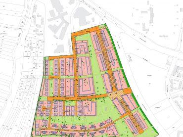 Bebauungsplan Schweinfurt Askren Manor / Bellevue